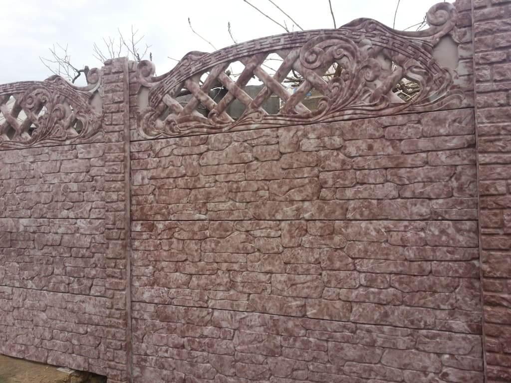 Бетонный забор по доступной цене