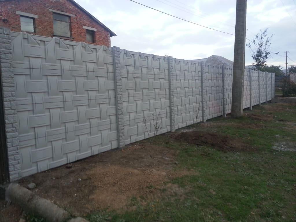 бетонніе заборі